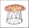 Stand B: Drum Design Pizza Stand