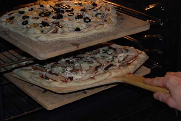 2-pizza stone method